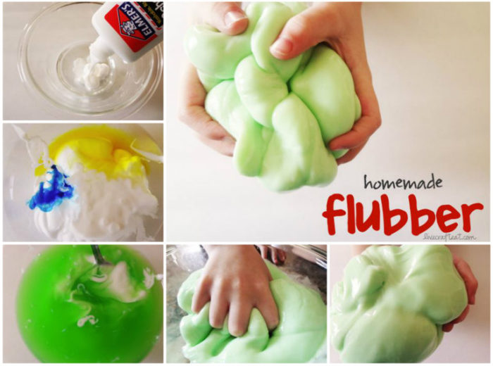 Homemade-Flubber for kids