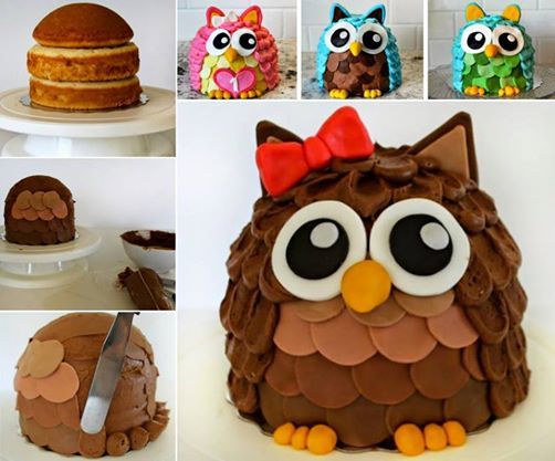 OWL Cake Wonderful DIY Ninja Turtle Cake