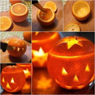 Wonderful DIY Cute Little Orange Lantern