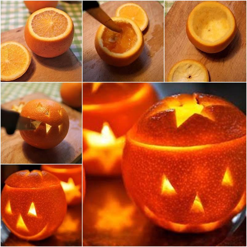 Orange Lantern DIY F Wonderful DIY Edible Pumpkin Cups for Halloween