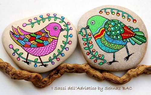 Painting  Stones and Pebbles7