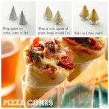 Wonderful DIY  Fun Pizza Cones