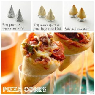 Wonderful DIY  Fun Pizza Cones