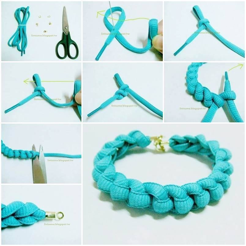 Shoelace Bracelet f Wonderful DIY Super Easy Shoelace Bracelet