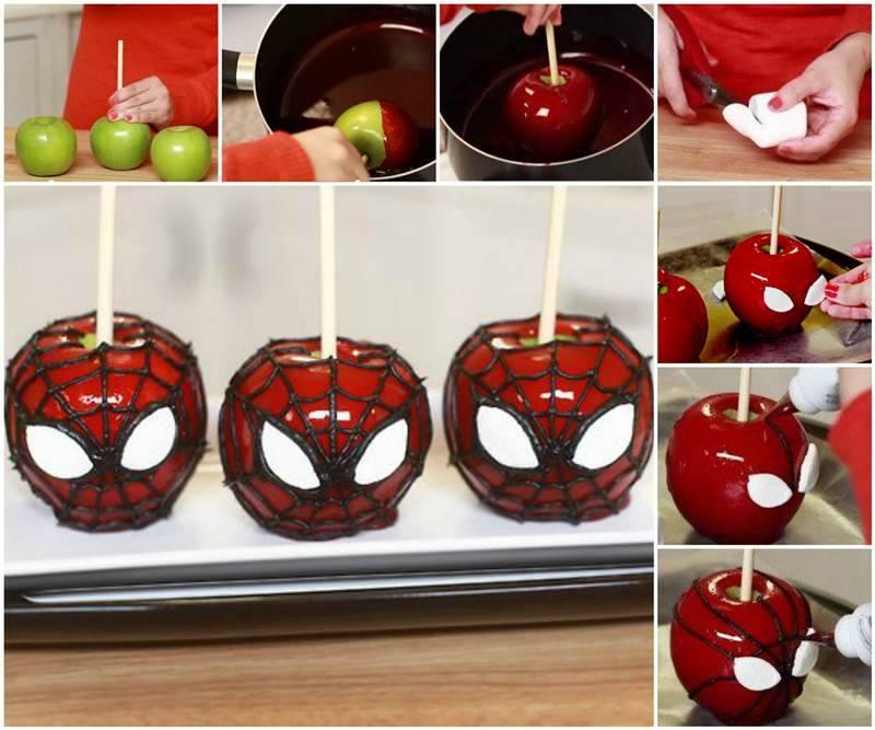 Spiderman-Caramel-Apples F2