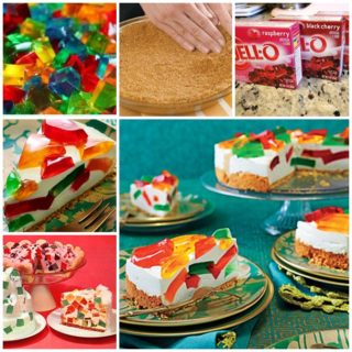 Wonderful DIY Stained Glass Jello Cake