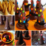 Wonderful DIY  Edible Wicked Witches Hats for Halloween