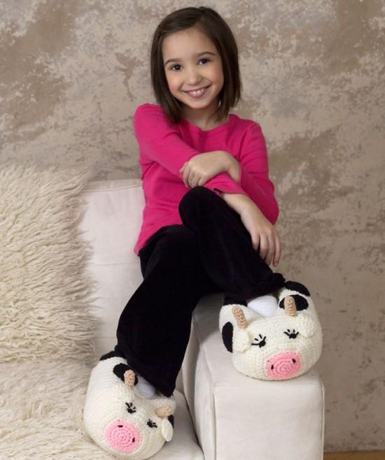 animal slipper-wonderfuldiy1