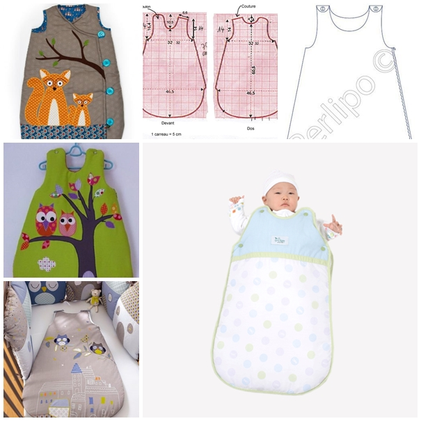 Wonderful DIY Baby Sleeping Bag With Free Template a9cb5edc5