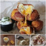 Mouth-Watering Bacon Wrapped Cheesy Mashed Potato Bombs