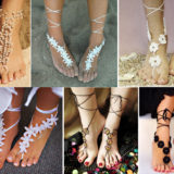 Wonderful DIY  Glamorous Barefoot Beach Sandals