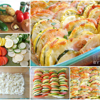 Wonderful DIY Delicious Cheesy Vegetable Tian