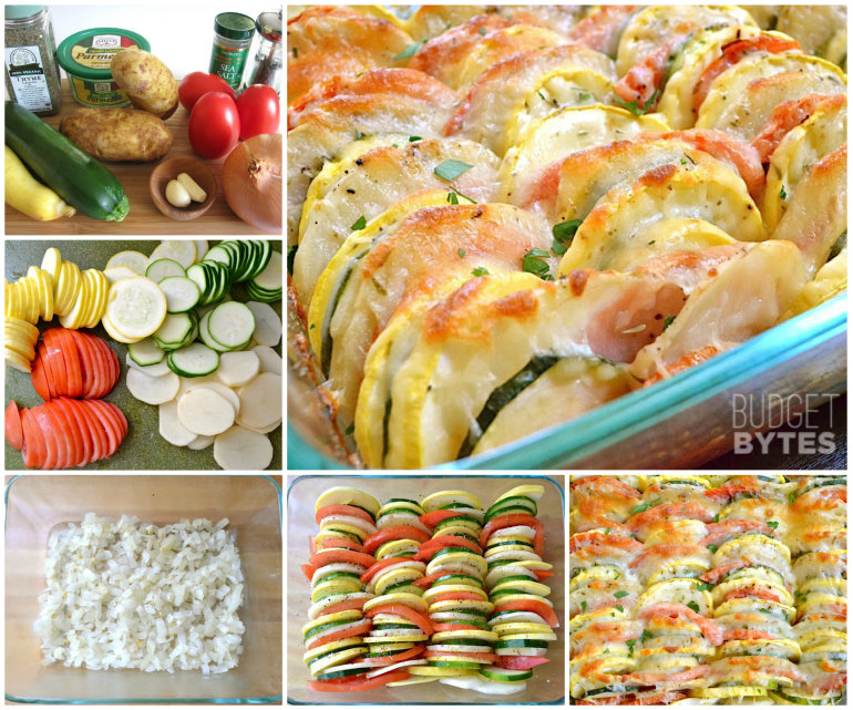 cheesy Vegatable Tian  Wonderful DIY Delicious Cheesy Vegetable Tian