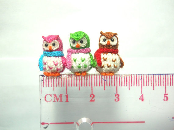 crochet-delicate-miniature owl2