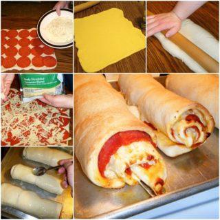 Wonderful DIY Tasty Pepperoni Pizza Rolls