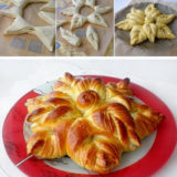 Wonderful DIY Beautiful Flower Shaped Bread