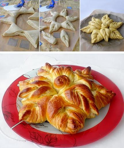 flower bread Wonderful DIY Beautiful Flower Shaped Bread