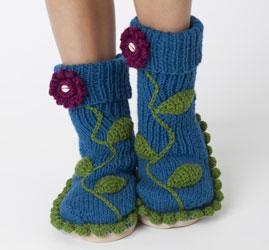 crochet slippers 5