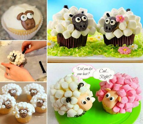 gorgeous Marshmallow Sheep