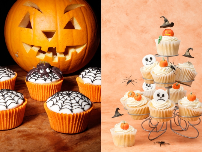wonderful diy halloween sweet cupcakes