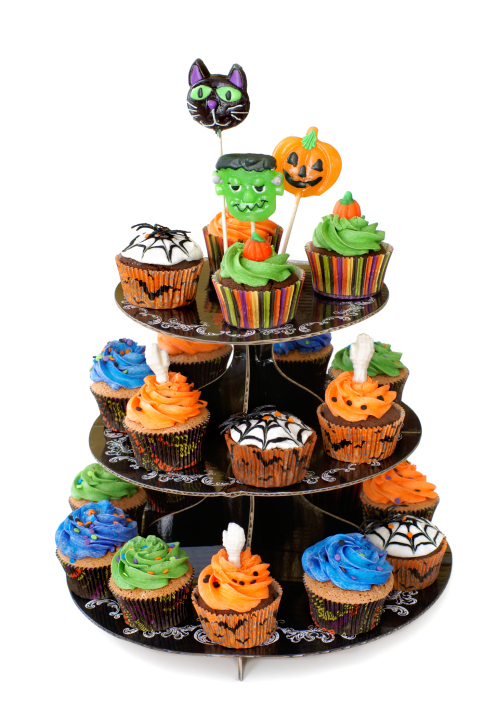 halloween cupcake ideas1 Wonderful DIY Halloween Sweet Cupcakes