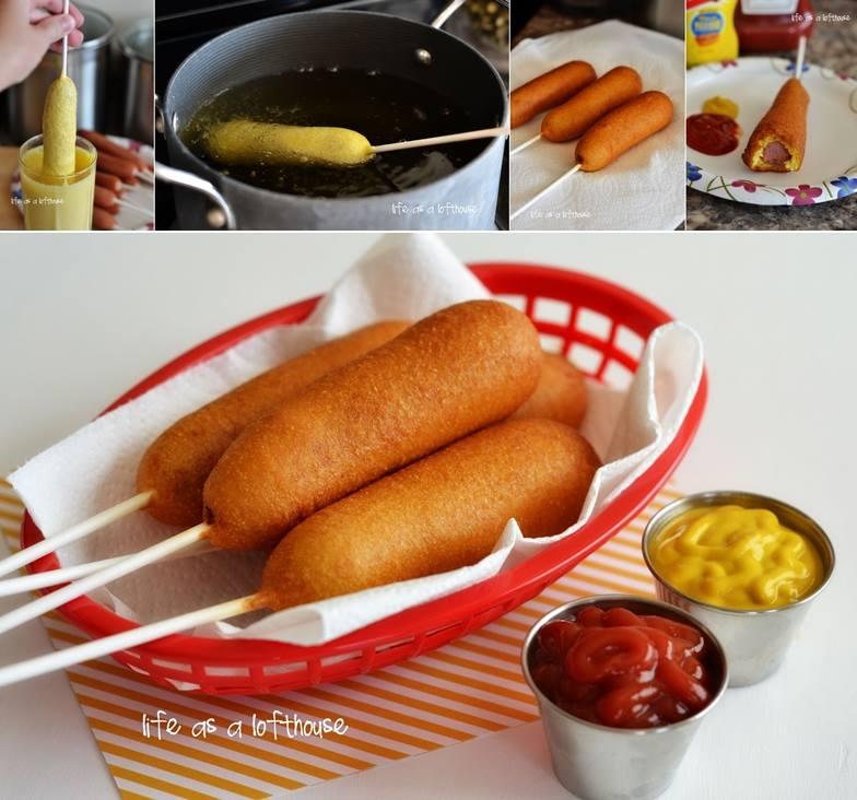 homemade Corn Dog DIY  Wonderful DIY Crunchy Nacho Crusted Crescent Dog