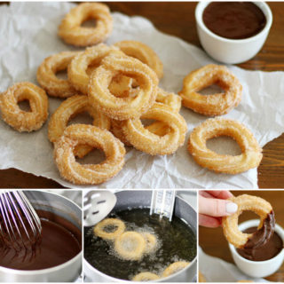 Wonderful DIY Homemade Churros With Sause