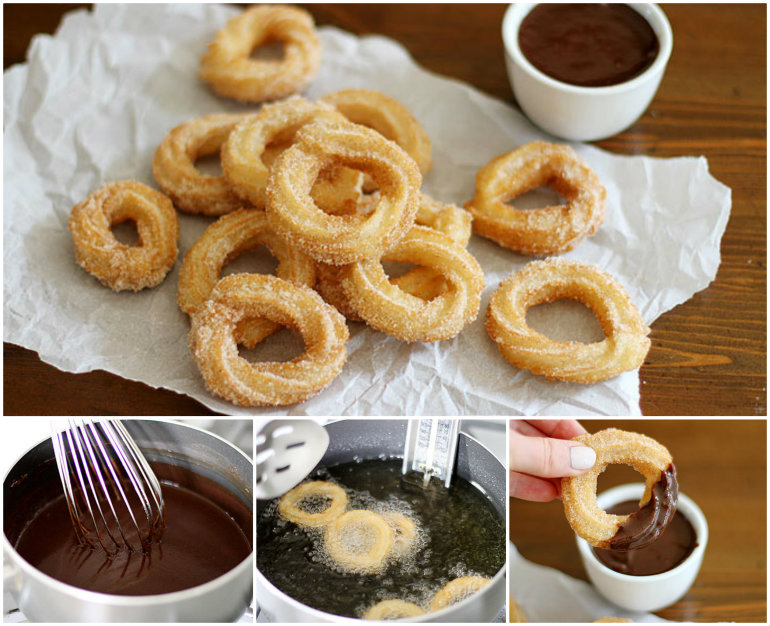 homemade churro 1 Wonderful DIY Homemade Churros With Sause