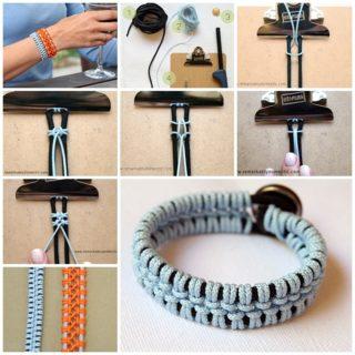 Wodnerful DIY Unique Lacey Macrame Bracelet