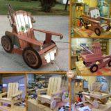 "Wonderful DIY Cool ""Tow Mater"" Adirondack Chair"