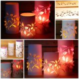 Wonderful DIY Beautiful 3D Paper Lanterns