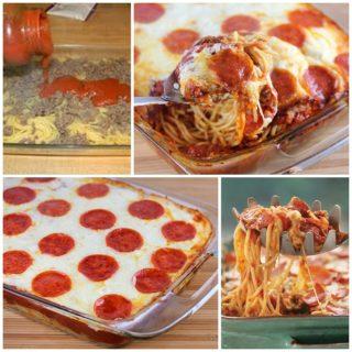 Wonderful DIY Delicious Pizza Spaghetti Casserole