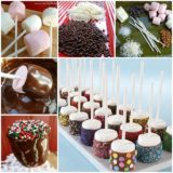 Wonderful DIY Cute Sprinkled Marshmallow Pops