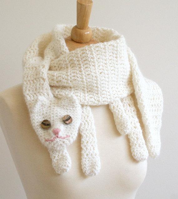 Wonderful Diy Cute Crochet Animal Scarves