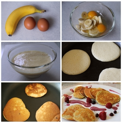 super easy Banana Pancakes  Wonderful DIY Super Easy Banana Pancake