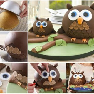 Wonderful DIY Super Cute  Owl Cake
