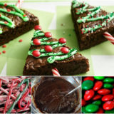 Wonderful DIY Edible Christmas Tree With Brownie