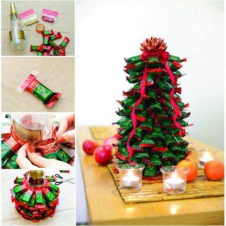 Wonderful DIY Chocolate Christmas Tree