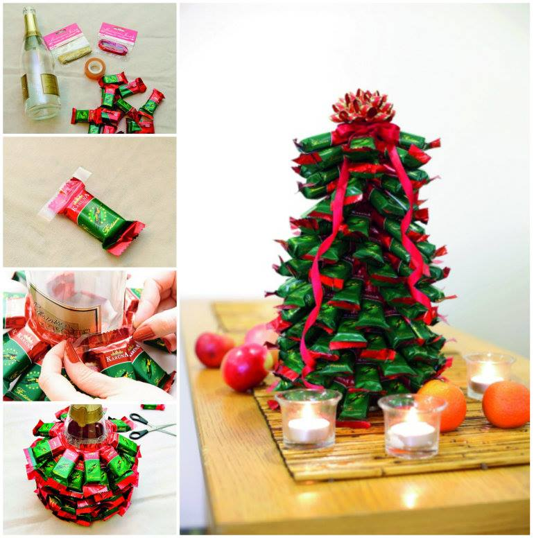 Wonderful DIY Chocolate Christmas Tree