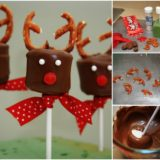 Wonderful DIY Chocolate Marshmallow Reindeers