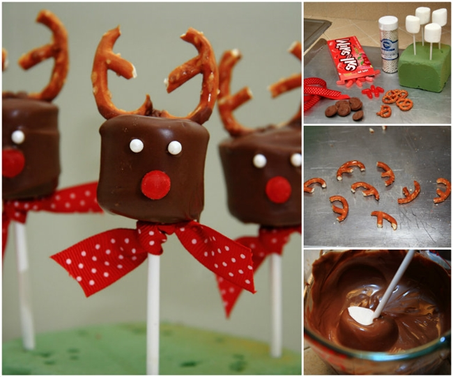 Chocolate Covered Marshmallow Reindeers F Wonderful DIY Chocolate Marshmallow Reindeers