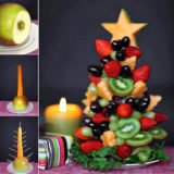 Wonderful DIY Food Christmas Tree