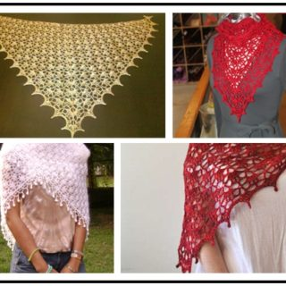 Wonderful DIY Crochet Lace Shawl