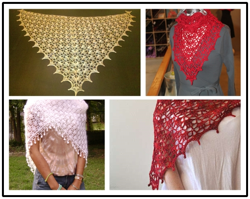 Crochet Shawl FREE Pattern DIY F Wonderful DIY Crochet Lace Shawl