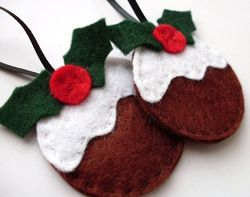 view in gallery felt ornament diy4 - Handmade Felt Christmas Decorations
