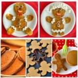 Wonderful DIY Cute Gingerbread Boy & Girl  Pancakes