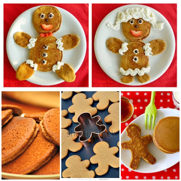 Gingerbread Pancakes F Wonderful DIY Cute Gingerbread Boy & Girl  Pancakes