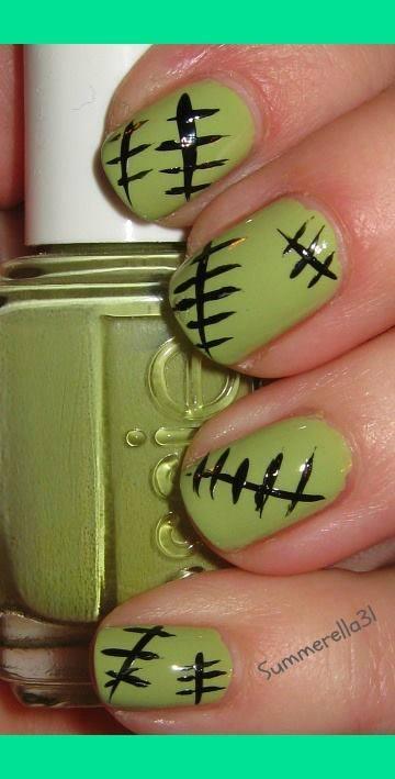 Halloween nail art 4