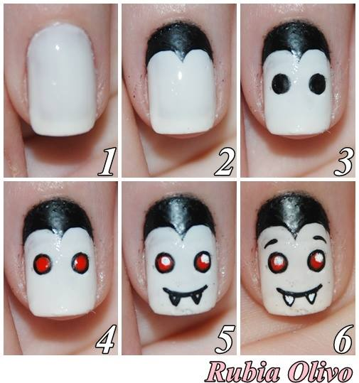 Halloween nail art 9