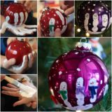 Wonderful DIY Cute Handprint Ornaments